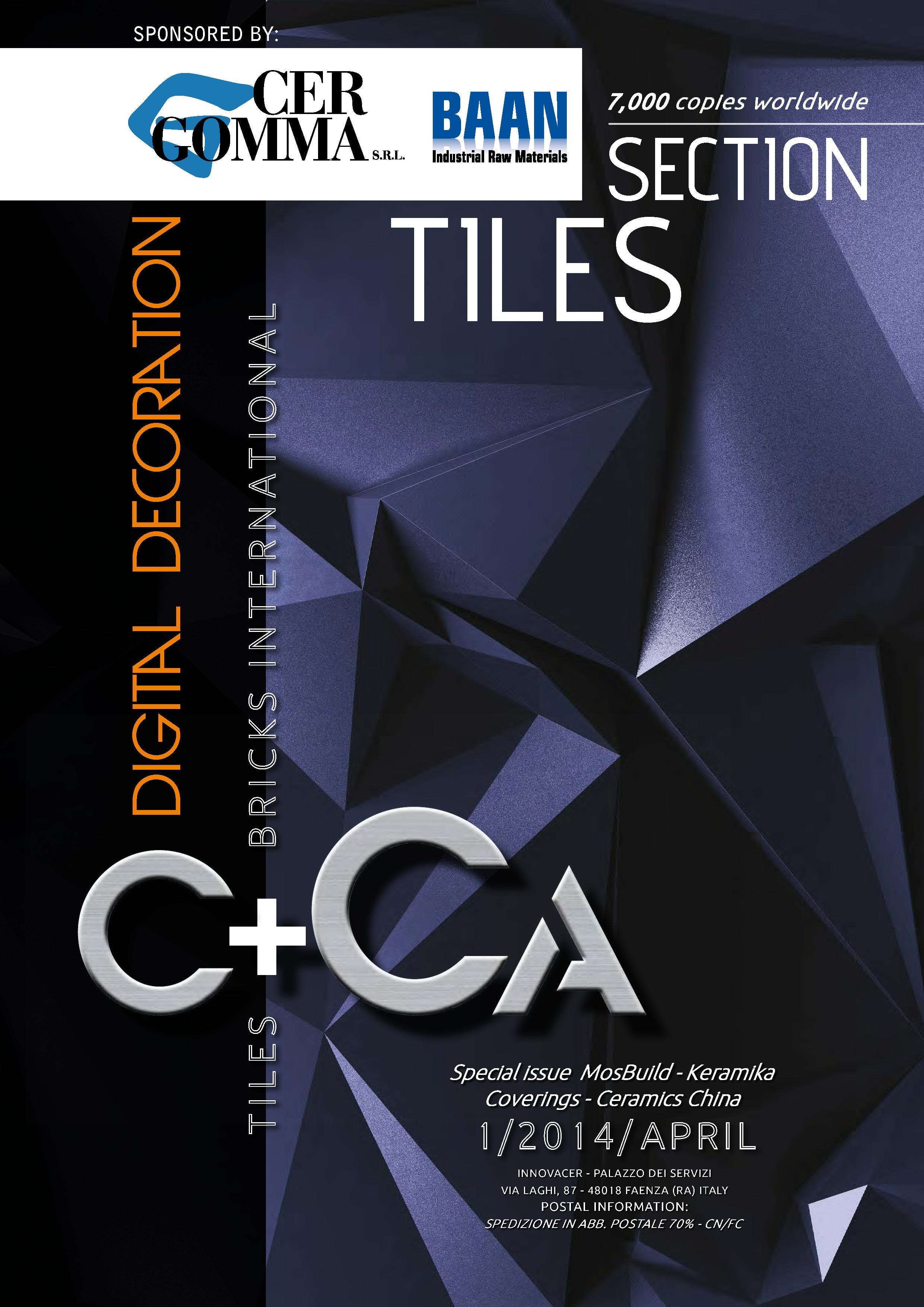 C+CA Tiles & Bricks International – Tutte Le Novità Del Settore Ceramico