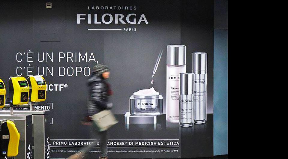 Laboratoires Filorga, Da Parigi A Tutt'Italia