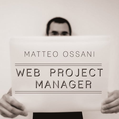 matteo ossani - Web Project Manager